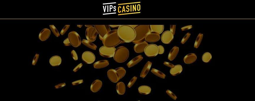Vips casinon ulkoasu on tummanpuhuva