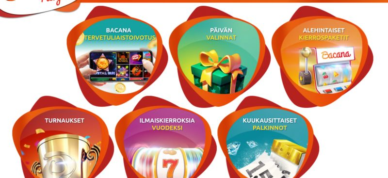 bacana play casino tarjoukset ja kampanjat