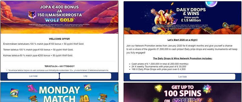 sapphire rooms casino kampanjat