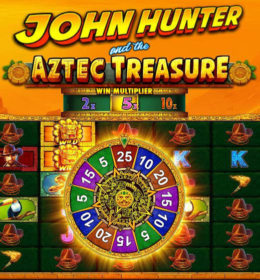 john hunter and the aztec treasure bonuspyörä