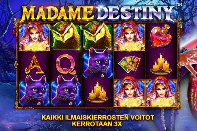 Madame Destiny ilmaiskierrosvoitot