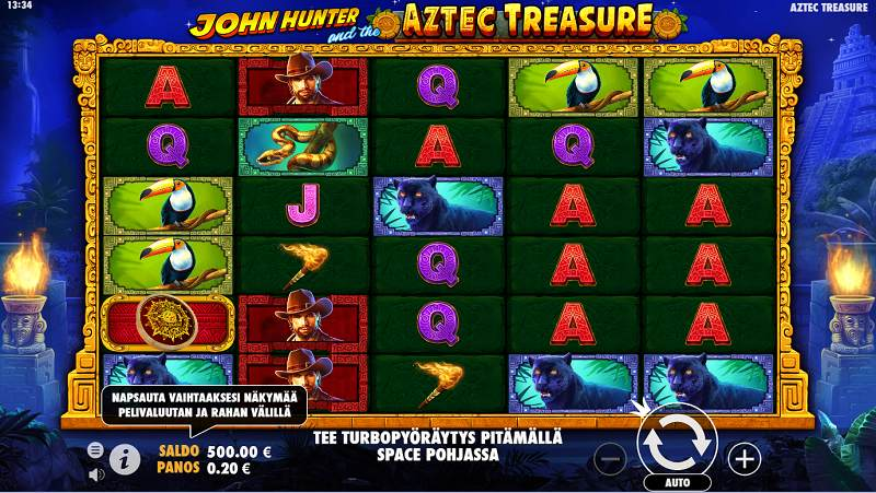 john hunter aztec treasure peruspeli