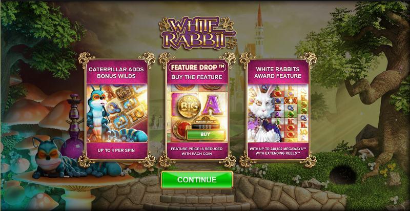 white rabbit megaways erikoisominaisuudet bonuspelit