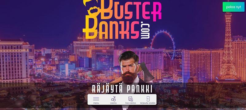 buster banks casino etusivu räjäytä pankki