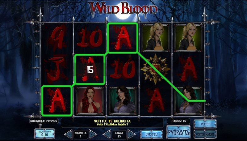 wild blood peruspeli