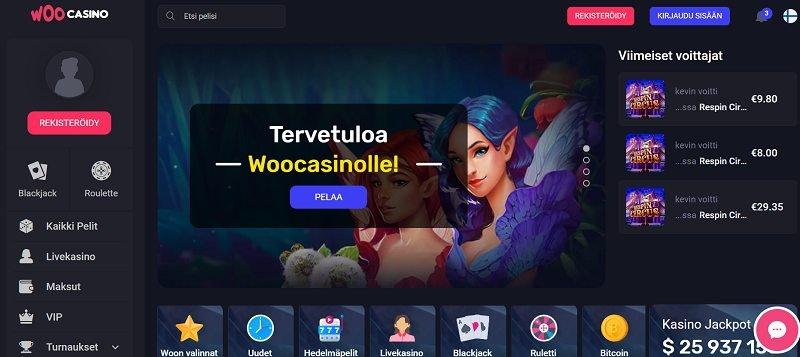 woo casino etusivu