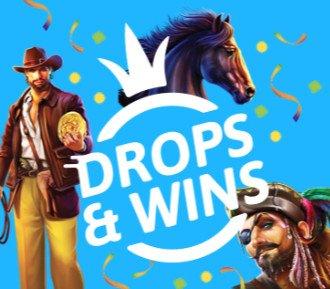 nopeampi casino drops & wins kampanja uutinen