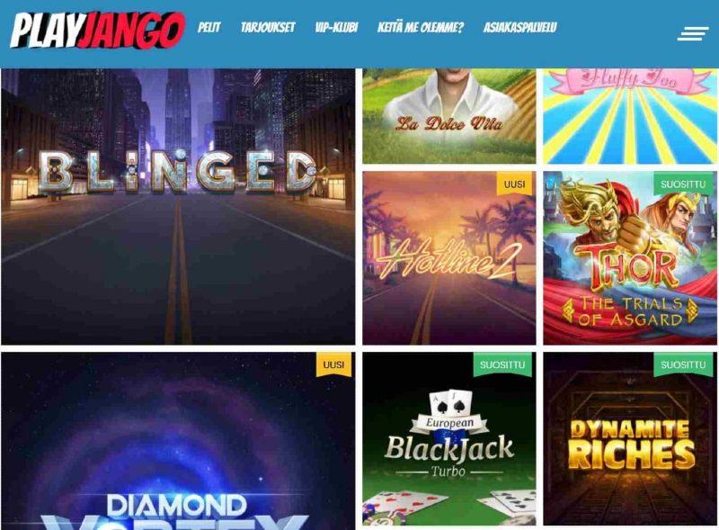 playjango casino peliaula
