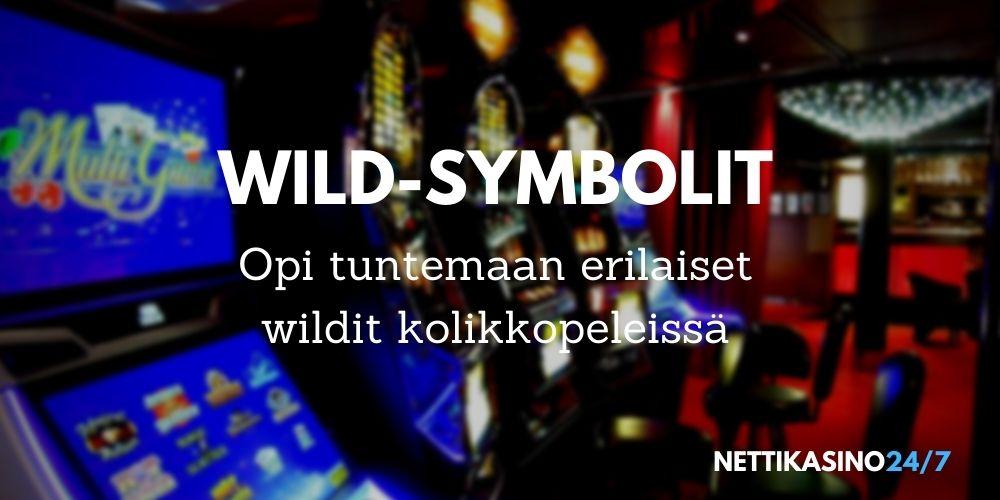 Wild-symbolit kolikkopeleissä