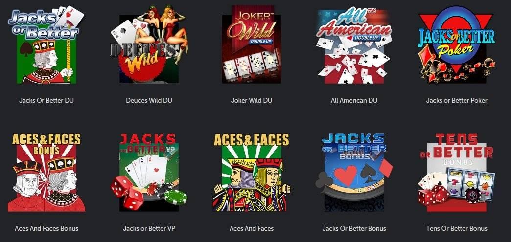 betsafe videopokeripelit pelivalikoima