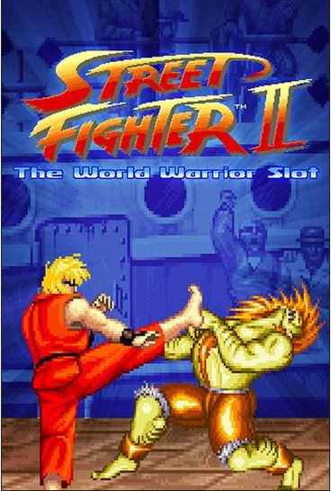 street fighter 2 logo netent