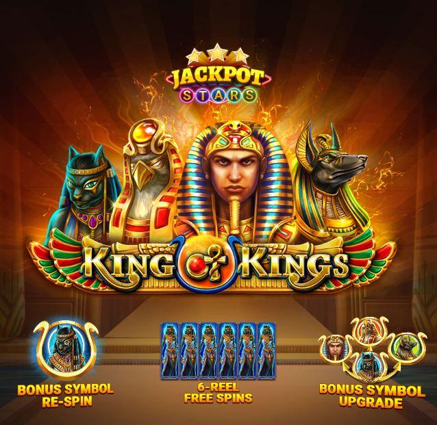 king of kings jackpot star peliohje