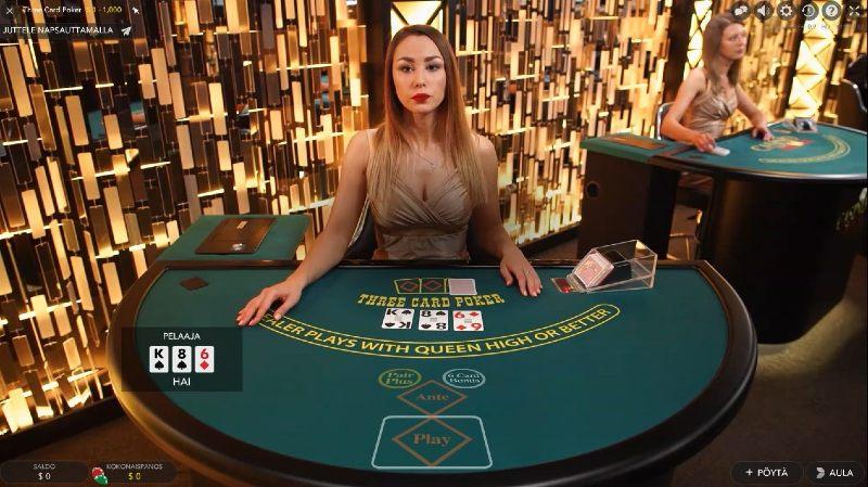 livekasino pokeri