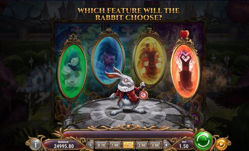 rabbit hole riches bonusominaisuudet