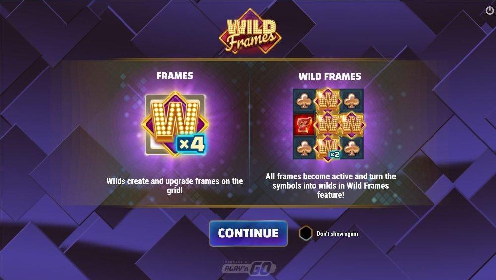 wild frames arvostelu peliohje