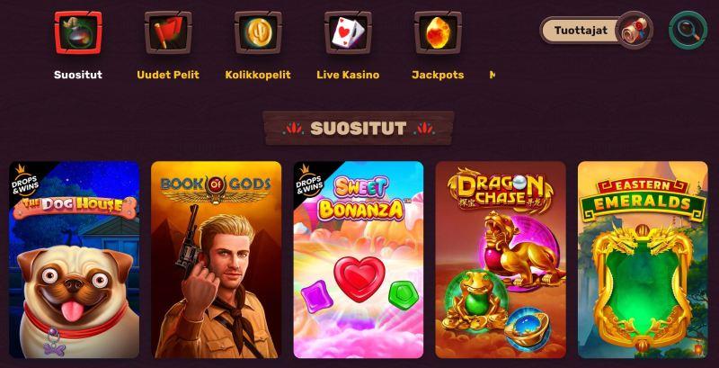 5gringos casino pelivalikoima