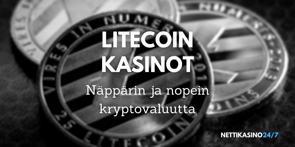 litecoin kasinot virtuaalivaluutta litecoin nettikasinot nopeat kotiutukset