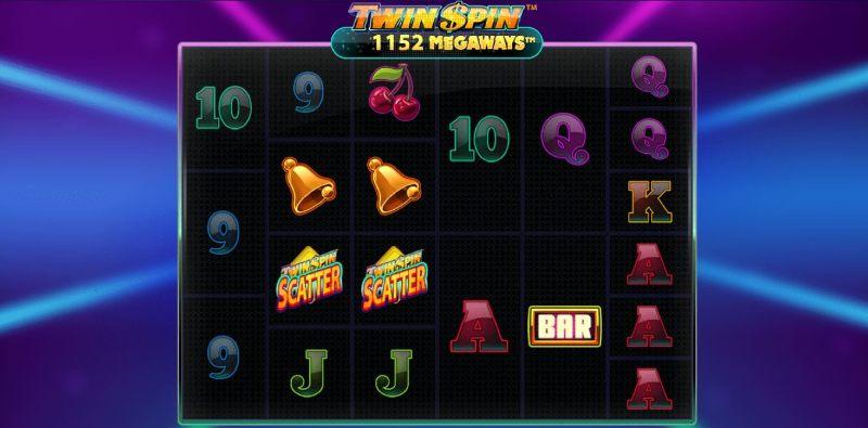 twin spin megaways arvostelu peruspeli