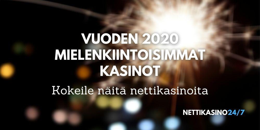 mielenkiintoisimmat nettikasinot 2020