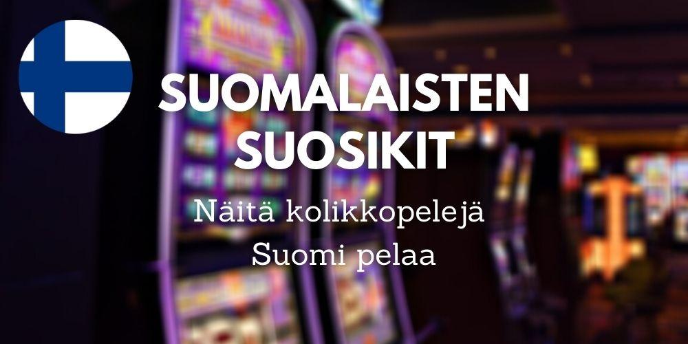 Suomalaisten Top 5 kolikkopeliä