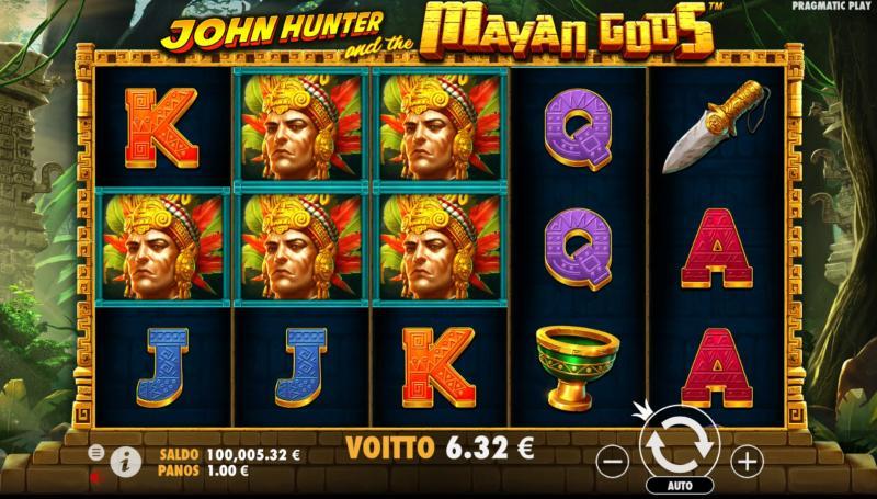 john hunter and the mayan gods peruspeli