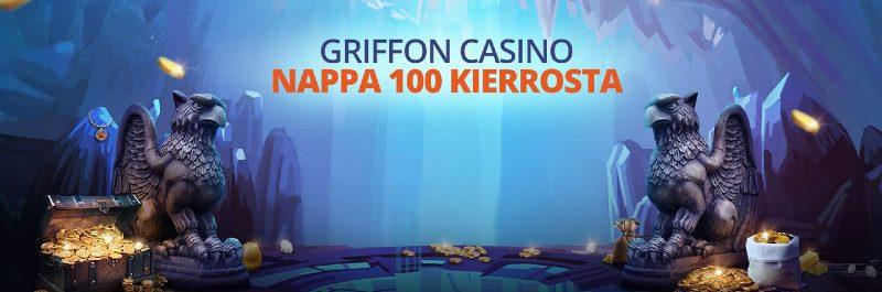 griffon casino bonus ja ilmaiskierrokset