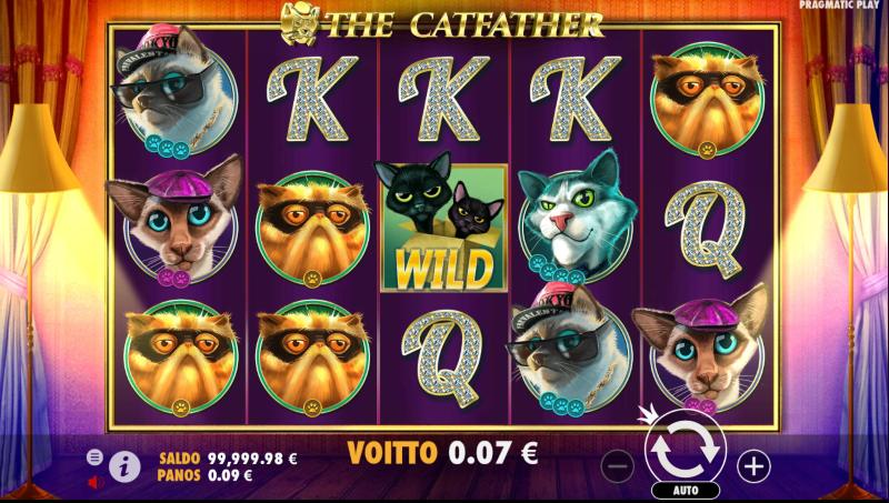 korkean rtpn pelit the catfather