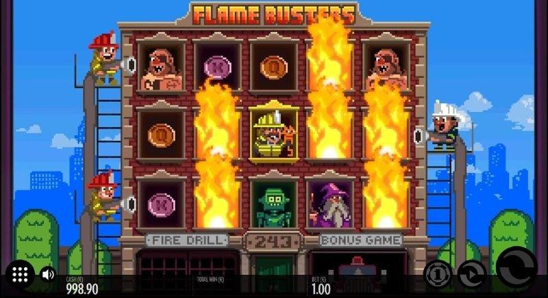 minimitalletus kasinot flame busters