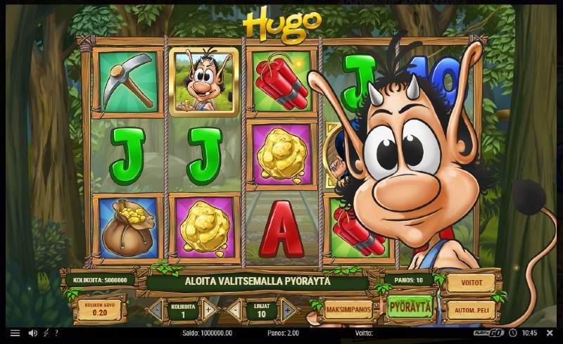 minimitalletus kasinot hugo