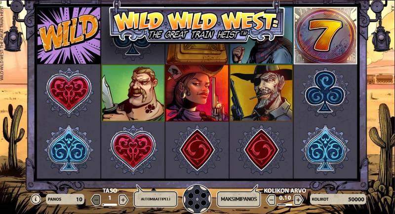 minimitalletus kasinot wild wild west