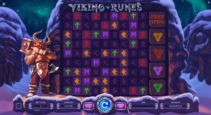 viking runes peruspeli