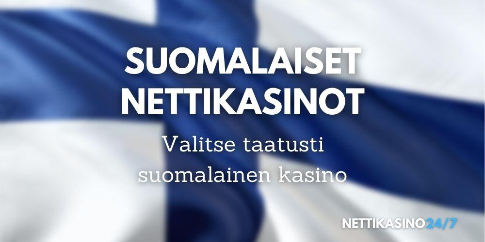 suomalaiset nettikasinot, valitse suomalainen kasino suomen lippu