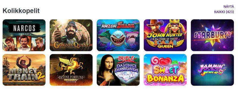 high 5 casino kolikkopelit