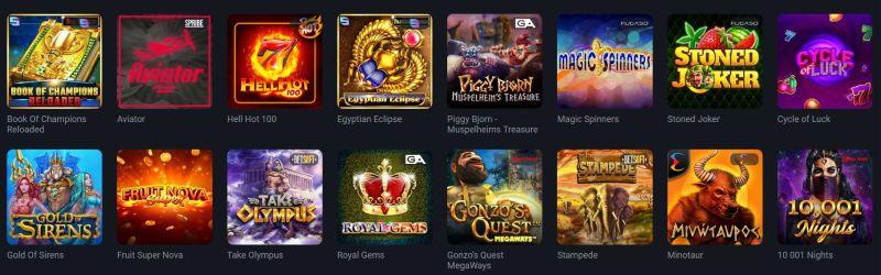 ggbet casino suosituimmat kolikkopelit