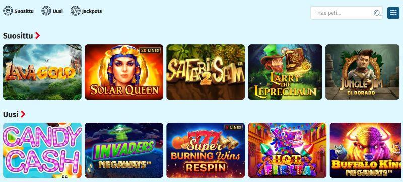 lapilanders casino kolikkopelejä