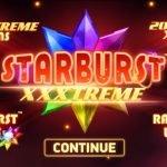 Uusi Starburst on nyt julkaistu