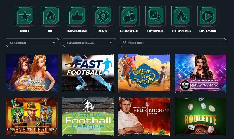 casinozer casino pelit
