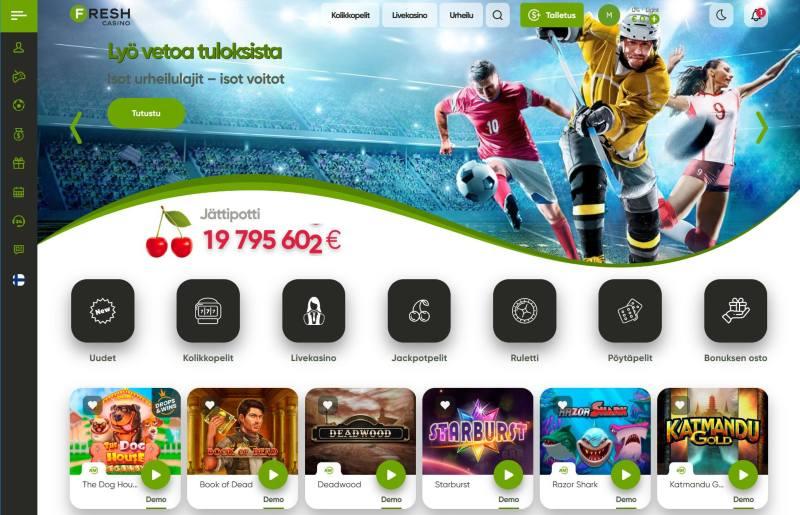 fresh casino suomi etusivu