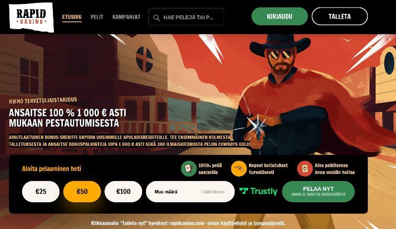 rapid casino suomi etusivu