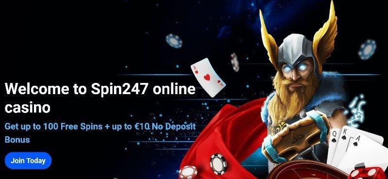 spin247 casino bonus