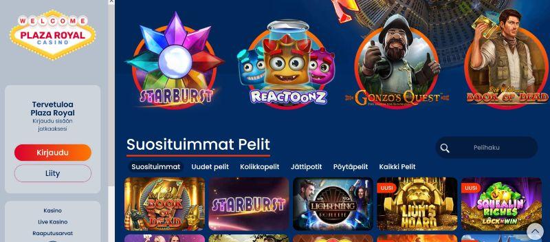 plaza royal casino suomi etusivu