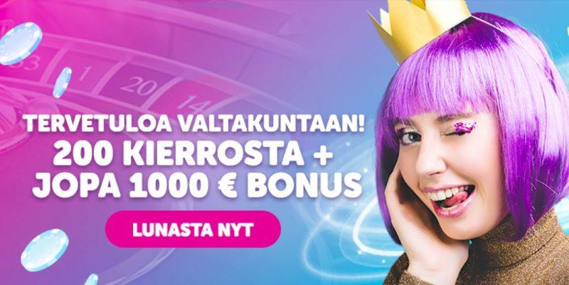 queenplay casino bonus ja ilmaiskierrokset